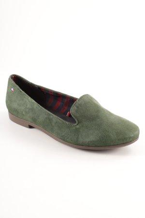 Tommy Hilfiger Pantofola verde bosco stile professionale