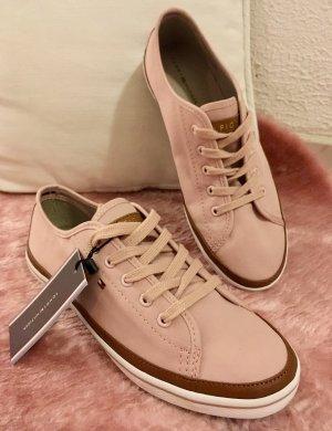 Tommy Hilfiger Sneakers met veters stoffig roze