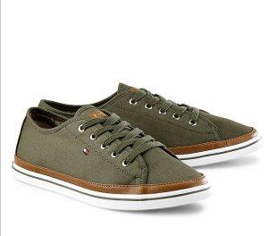 Tommy Hilfiger Sneakers met veters khaki