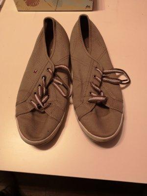 Tommy Hilfiger Sneakers grijs-bruin-beige