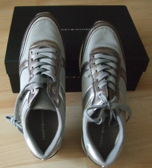 TOMMY HILFIGER Sneaker Turnschuh Metallic Look - Gr. 40