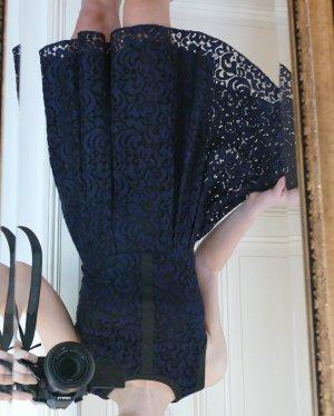 Tommy Hilfiger Midi-jurk donkerblauw-zwart