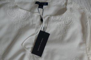 Tommy Hilfiger Midi-jurk wit Katoen