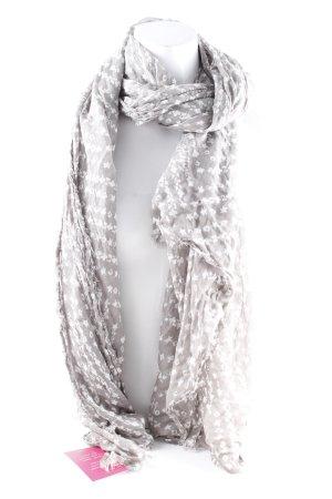 Tommy Hilfiger Chal veraniego marrón grisáceo-blanco look casual