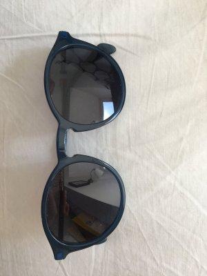 Tommy Hilfiger Occhiale da sole rotondo petrolio-blu scuro Materiale sintetico