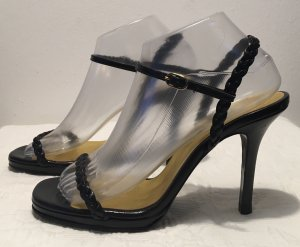 Tommy Hilfiger High Heel Sandal black leather