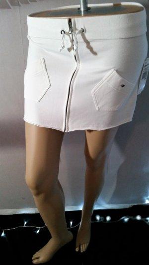 Tommy Hilfiger Mini-jupe blanc coton