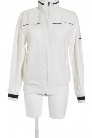 Tommy Hilfiger Veste de sport blanc-bleu foncé style marin