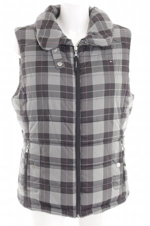 Tommy Hilfiger Quilted Gilet check pattern casual look