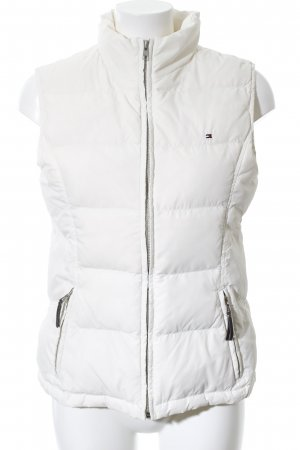 Tommy Hilfiger Quilted Gilet white quilting pattern casual look