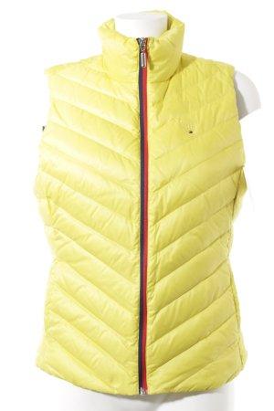 Tommy Hilfiger Gewatteerd vest quilten patroon atletische stijl