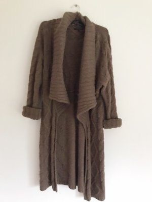 Tommy Hilfiger Knitted Coat brown