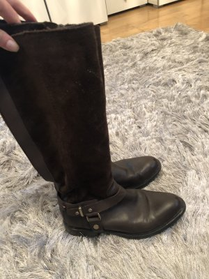 Tommy Hilfiger Riding Boots dark brown