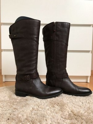 Tommy Hilfiger Winter Boots bronze-colored leather