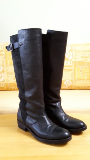 Tommy Hilfiger High Boots black leather