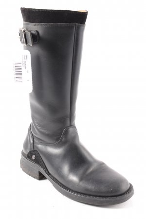 Tommy Hilfiger High Boots black casual look