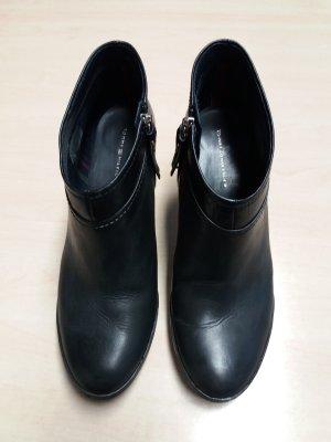 Tommy Hilfiger Stiefelette Leder schwarz