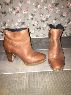 Tommy Hilfiger Stiefeletten Boots braun Gr. 38