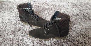 Tommy Hilfiger Stiefeletten Boots Schnürschuhe braun