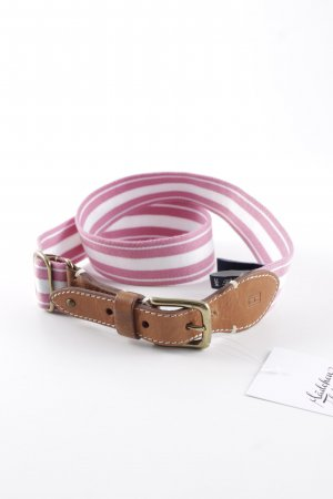 Tommy Hilfiger Fabric Belt striped pattern athletic style