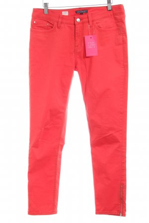 Tommy Hilfiger Stoffen broek rood casual uitstraling