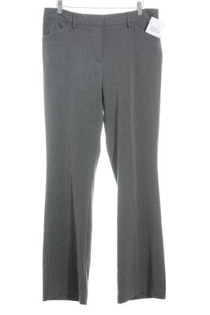 Tommy Hilfiger Stoffen broek donkergrijs gestippeld zakelijke stijl