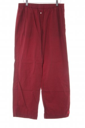 Tommy Hilfiger Stoffhose karminrot Casual-Look