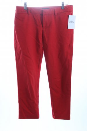 Tommy Hilfiger Stoffhose rot Business-Look