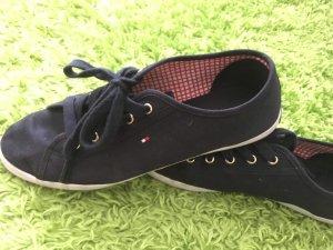 Tommy Hilfiger Lace-Up Sneaker dark blue