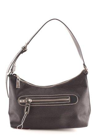 Tommy Hilfiger Stofftasche schwarz klassischer Stil