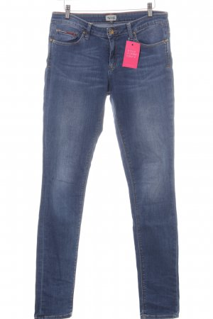 Tommy Hilfiger Straight-Leg Jeans blau Business-Look