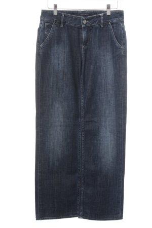 Tommy Hilfiger Jeans met rechte pijpen blauw casual uitstraling