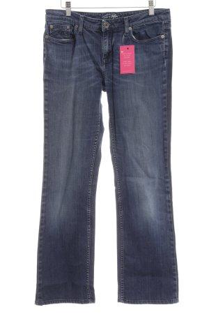 Tommy Hilfiger Straight-Leg Jeans blau-stahlblau Casual-Look