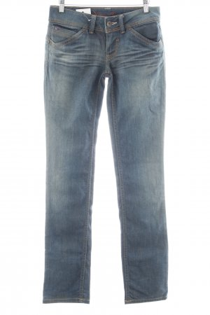 Tommy Hilfiger Straight-Leg Jeans blau Used-Optik