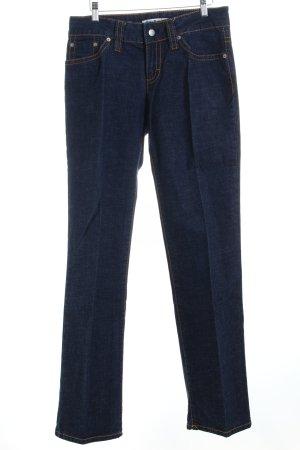 Tommy Hilfiger Jeans coupe-droite bleu foncé Aspect de jeans