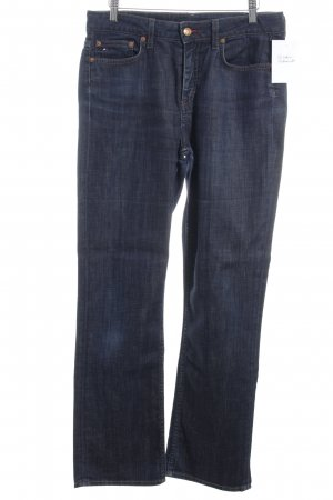 Tommy Hilfiger Straight-Leg Jeans dunkelblau Street-Fashion-Look