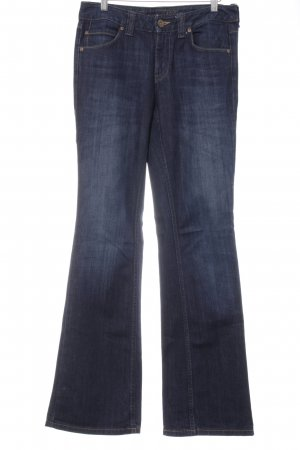 Tommy Hilfiger Jeans a gamba dritta blu scuro look pulito