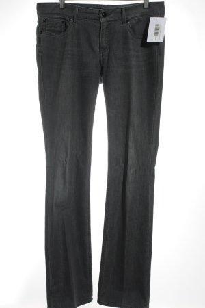 Tommy Hilfiger Straight-Leg Jeans grau Street-Fashion-Look