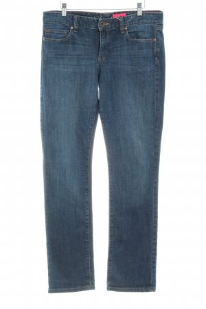 Tommy Hilfiger Straight-Leg Jeans graublau Used-Optik