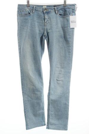 Tommy Hilfiger Vaquero rectos azul claro-blanco puro look casual