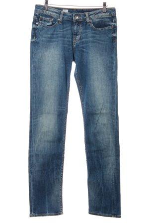 Tommy Hilfiger Straight-Leg Jeans kornblumenblau Casual-Look