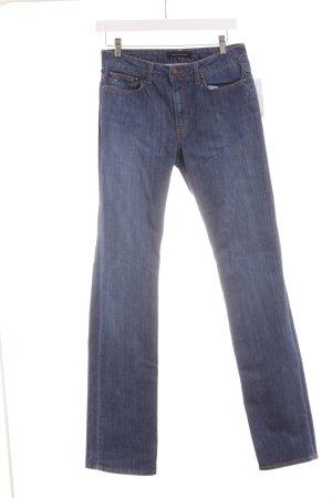 Tommy Hilfiger Jeans met rechte pijpen staalblauw casual uitstraling