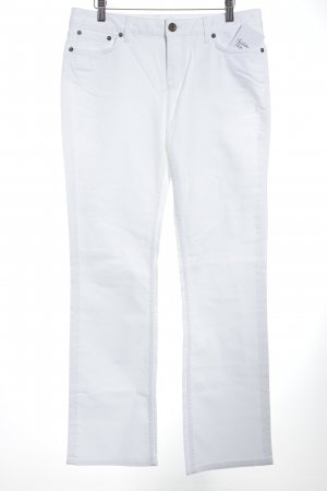 Tommy Hilfiger Jeans coupe-droite blanc Aspect de jeans