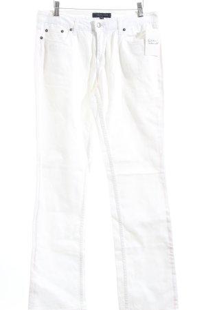Tommy Hilfiger Straight-Leg Jeans weiß klassischer Stil
