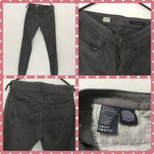 Tommy Hilfiger Pantalone elasticizzato argento Cotone