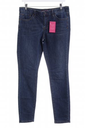 Tommy Hilfiger Stretch Jeans dunkelblau-hellbeige Casual-Look