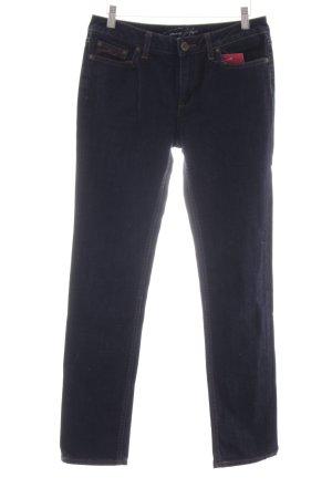 Tommy Hilfiger Stretch Jeans dunkelblau Jeans-Optik