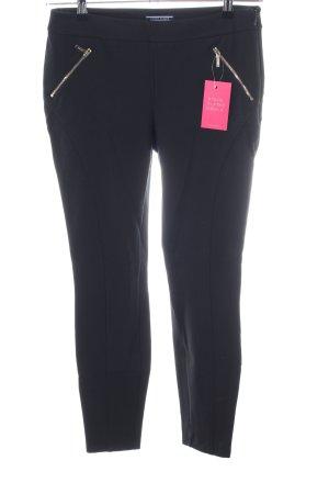 Tommy Hilfiger Stretch broek zwart casual uitstraling