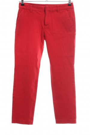 Tommy Hilfiger Stretchhose rot Casual-Look