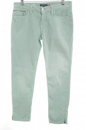 Tommy Hilfiger Stretchhose mint Casual-Look